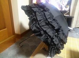 A/Pロココアンブレラ、ALICE and the PIRATESの傘です。まぁA/PはそのA/Pなのですが